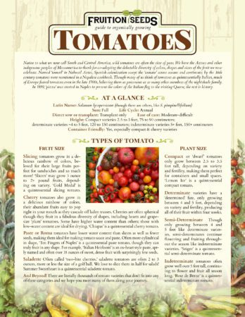 Thumbnail of Growing Guide for Sowing & Growing Series: Tomatoes
